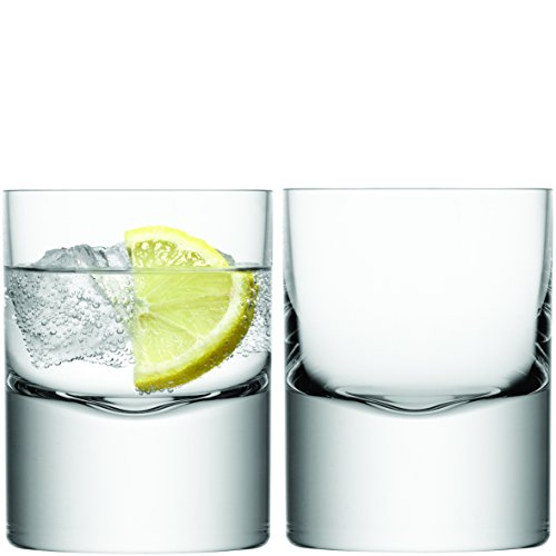 LSA International 250 ml Boris Tumbler, Clear (Pack of 2)