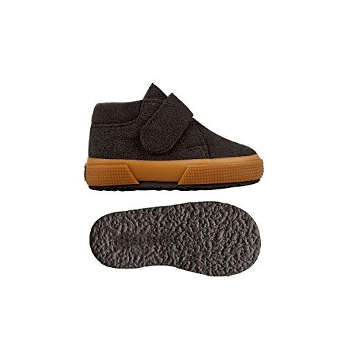 Superga 2174-Bsuj, Sneaker a Collo Alto Unisex – Bambini Marrone (marrón - marrón oscuro)