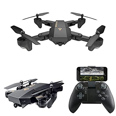 HUHU833 VISUO XS809HW Wifi Quadcopter 120° FOV Angle 2MP HD Tiltable Camera Foldable 2.4G 6-Axis