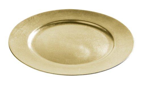 Distressed Gold Finish (Premier Housewares Dekoratives Ladegerät, Gold)