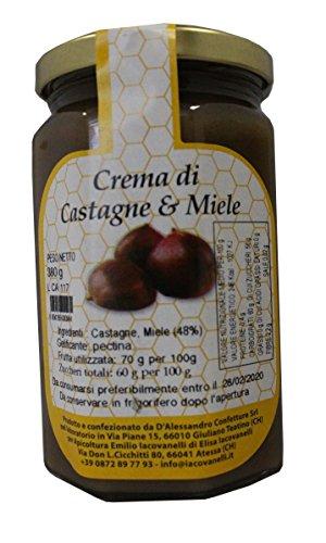 Confettura extra di castagne e miele 380 g
