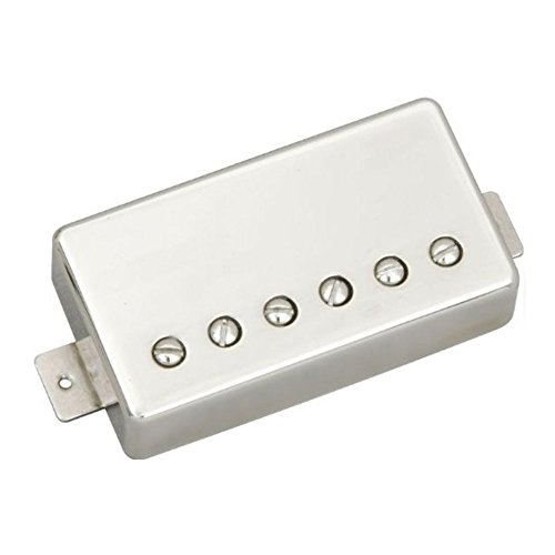 Seymour Duncan SSH-PG 1B NCOV SHPG-1B Pearly Gates Brückenposition Cover nickel - Paul Classic Les Custom