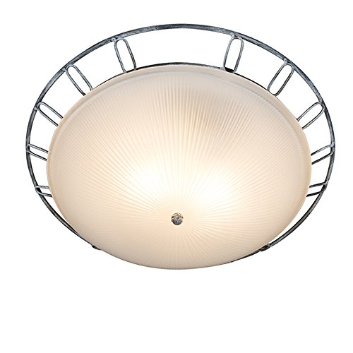 qazqa-country-rustic-ceiling-lamp-ceiling-light-conti-antique-grey-glass-round-suitable-for-led-e27-