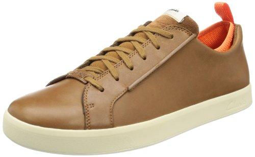 Clarks Herren Tallow Lace Low-Top, Braun (Tan Leather), 44 EU (Top Lace Tan)