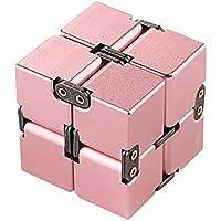 Bright Love Unendlicher Quadratischer Würfel, Dekompression Infinite Cube Aluminiumlegierung Dekompressions Spielzeug... preisvergleich bei billige-tabletten.eu