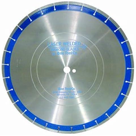 Bon 21-601 - Disco de diamante soldado con láser (30,5 x 0,3 cm), color azul