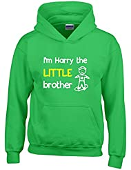 Direct 23 Ltd Personalised I'm The Little Brother Boys Hoodie