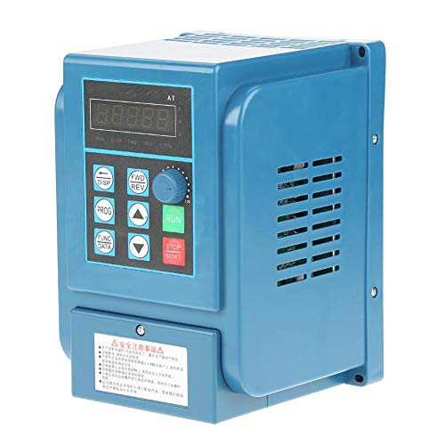 Frequenzumrichter, 3-phasiger VFD-Wechselrichter Professioneller Frequenzumrichter 2,2 kW Wechselstrom-Motorsteuerung Überstrom, Überspannung, Überhitzung, Kurzschlussschutz für 3-Phasen -
