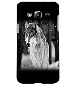 SAMSUNG GALAXY J3 WOLF Back Cover by PRINTSWAG