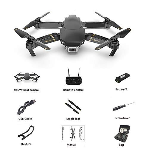 gaeruite Drone M65 RC con HD WiFi FPV HD Camera Altitude Hold, Pieghevole 2.4G RC Quadcopter Drone con Batteria 1200MAH 3.7V