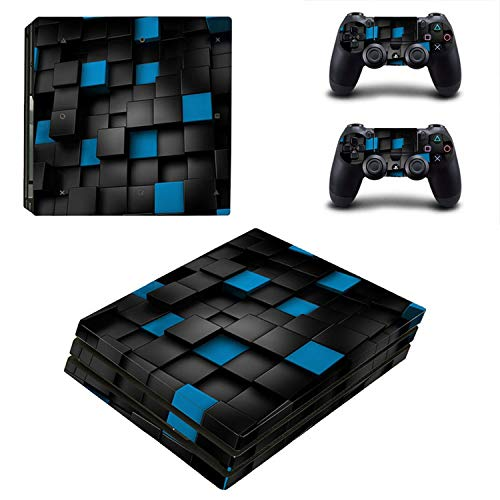 Price comparison product image WELLDRESSED Vinyl Cover Skins For Sony Playstation 4 PS4 Pro Console Skin Sticker And 2 Controller Protective Decal Stickers