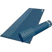 Viavito Leviato Esterilla de Yoga de 6mm con Correa, Color- Distant Blue
