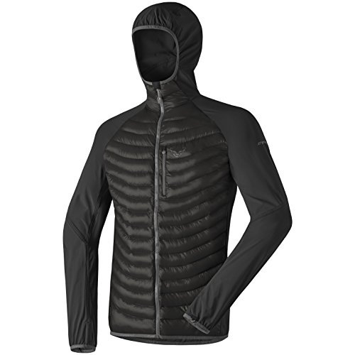 Dynafit Herren Traverse Hybrid Primaloft Jacke M Asphalt - Stretch Woven Jacket