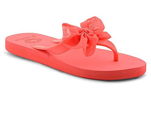 Foster Footwear - Retro aperto da ragazza' donna Coral