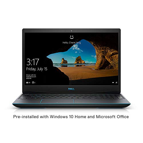 Dell Gaming-G3 3590 15.6-inch FHD Laptop (9th Gen Core i7-9750H/8GB/1TB HDD + 512GB SSD/Windows 10 + MS Office/4GB NVIDIA 1650 Graphics/Black)