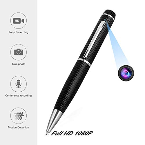 Übersetzt von Kugelschreiber Kamera TE-650HDB Spionage SpyCam 8MP, getarnte Spionagekamera mit hochauflösender Aufzeichnung in Full HD Qualität unauffällige Videos und Bilder Micro SD Karte bis 32 GB -