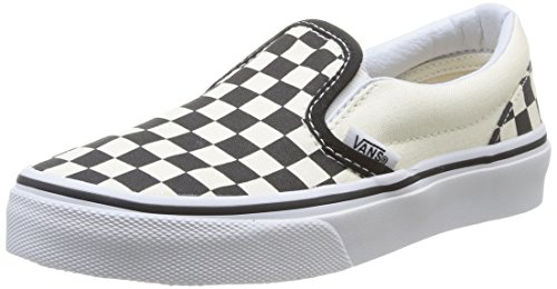 Vans Kids Classic Slip-ON Low-Top, Mehrfarbig ((Checkerboard) EO1), 35 EU