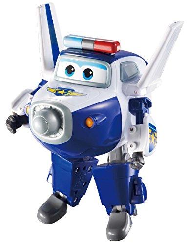 Fliegende Spielzeug Transformer (Super Wings Transform a Bots Paul 12 cm Transformer Flugzeuge Spielzeug)
