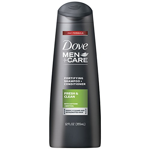 Dove Men+Care 2 in 1 Shampoo and Conditioner, Fresh and Clean 12...