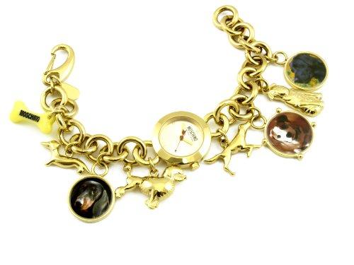 Moschino - MW0012 - Montre Femme - Quartz Analogique - Cadran Doré - Bracelet Métal Doré