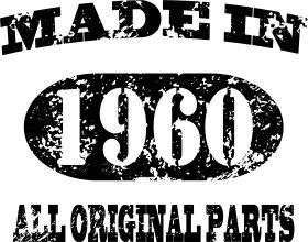 Mister Merchandise Tote Bag Made in 1960 All Original Parts 55 56 Borsa Bagaglio , Colore: Nero Nero