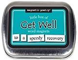 magnetisch Poesie Little Box Of Get Well Magnete. mp3713, 4,4x 5,7x 12,7cm