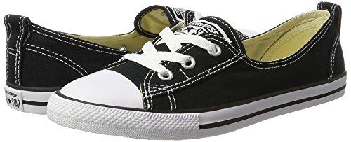 Converse Unisex-Erwachsene All Star Ballet Lace Sneaker, Schwarz (Black), 41 EU - 5