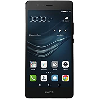 Huawei P9 Lite Smartphone, LTE, Display 5.2'' FHD, Processore Octa-Core Kirin 650, 16 GB Memoria Interna, 3GB RAM, Fotocamera 13 MP, Single-SIM, Android 6.0 Marshmallow, Nero [Italia]