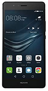 "Huawei P9 Lite Smartphone, 5.2"" Full hd, 3 GB RAM, 16 GB, Nero, Garanzia Europa"