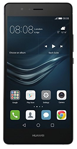 Foto Huawei P9 Lite Smartphone, LTE, Display 5.2'' FHD, Processore Octa-Core Kirin 650, 16 GB Memoria Interna, 3GB RAM, Fotocamera 13 MP, Single-SIM, Android 6.0 Marshmallow, Nero [Italia]