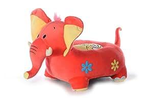 Dimpy Stuff Elephant Baby Seat, Peach (70cm)