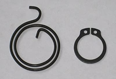 Door Handle Spring Repair Kit (six 2 turn, 2mm thick coils plus six circlips) - low-cost UK door handle shop.