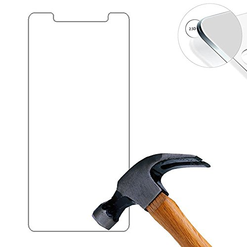 Galleria fotografica Lusee 2 x pack Protezione Schermo vetro temperato per Elephone P8 mini 5.0 Pollice Film ultra-duro vetro 9H