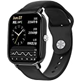 DT36 Smart Watch 1.75 inch Full Touch Screen With Silicone Strap Bluetooth Calling Health Monitor Sports Fitness Tracker For