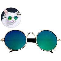 Gafas De Sol Para Gatos, Legendog Ojo De Gato Desgaste Gafas Mentales Cool Para Accesorios De Perro Gato Para Perro Gato