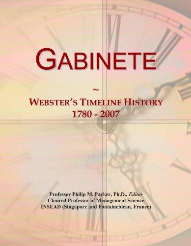 gabinete-websters-timeline-history-1780-2007
