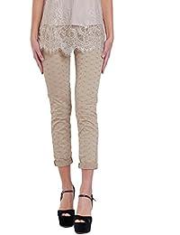 Liu Jo Jeans LIU JO Pantalone Monroe F18234T9411 DARK SAND 2a0ed6baf59