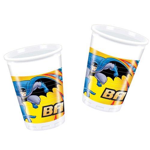 stoff Tassen, 8Stück (Batman Party-ideen)