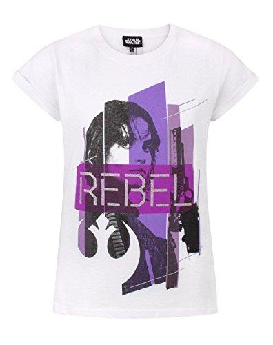 Star Wars Rogue One Rebel Girl's T-Shirt (5-6 Years)