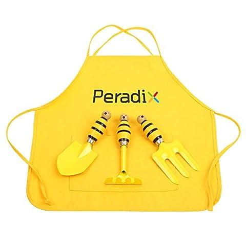 Peradix Gardening Tools Kits for Kids Garden Planting Digging Equipment