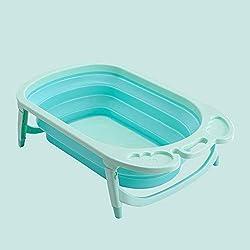 Yunfeng Bañera de bebé para Aumentar fácil Llevar la bañera Plegable de bebé recién Nacido bañera