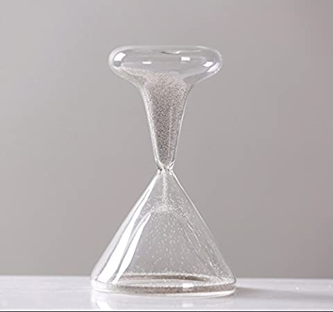 WKAIJCO Dekoration Zeit Sanduhr Timer 1 Minute Kreativ Zuhause Showroom Weintyp Kleine Frische Geschenk,B