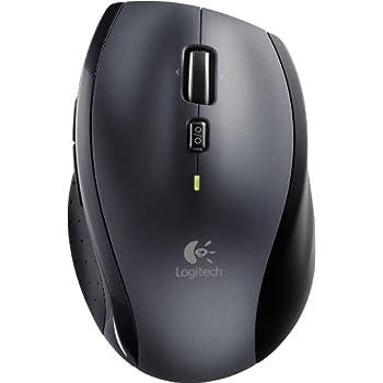 Logitech Marathon M705 - kabellose Maus (für Notebook/Computer mit 3Jahren Batterielebensdauer) einfarbig