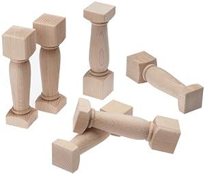 HABA 3507 - Columnas griegas para Juego de construcción