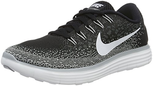Nike Damen Wmns Free RN Distance Laufschuhe, Negro (Black / White-Dark Grey-Wlf Grey), 39 (Schwarz Frauen Free Nike Run)