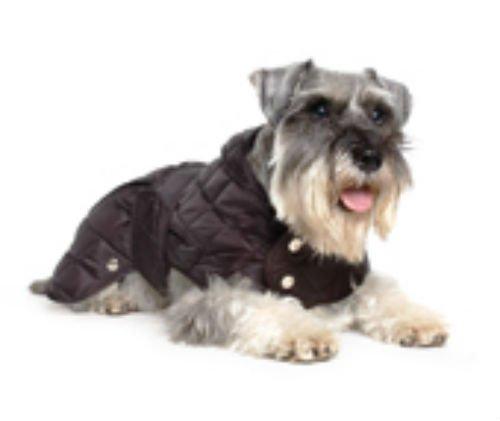 Ancol Muddy Paws Diamond Quilt Mantel Hund XXL Schwarz -