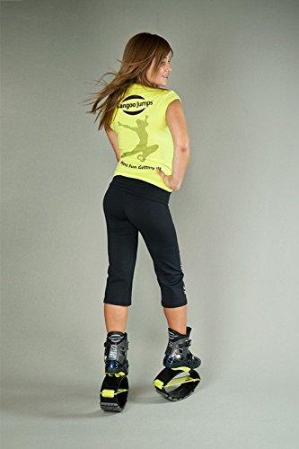 Kangoo Jumps t-shirt mT - 04 SMALL Jaune/noir - Jaune