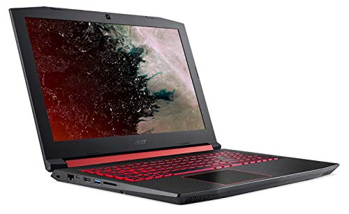 Acer Nitro Core i5 8th Gen 15.6-inch Gaming Laptop (8GB/1TB HDD +128GB SSD/Windows 10 Home/4GB Graphics/Black/2.7kg), AN515-52