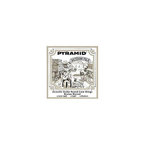 Pyramid Western Folk rund Core 13-56Akustische Gitarre Saiten Runde 13