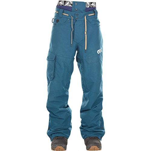 Picture Under Pant - petrol blue